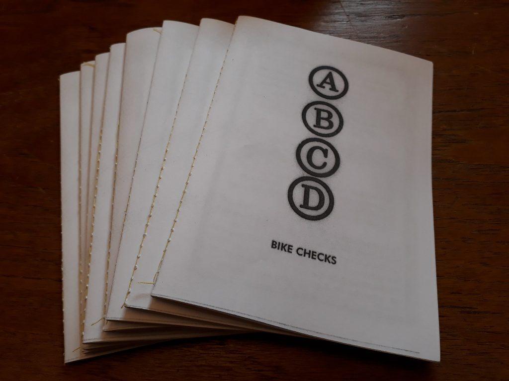 ABCD Bike Checks zine